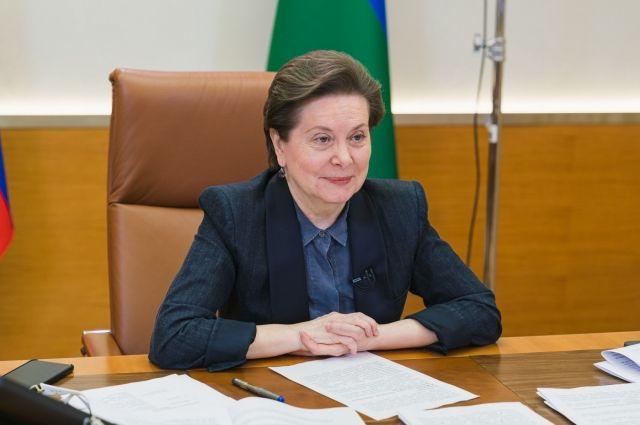Наталья Комарова общалась с журналистами несколько часов