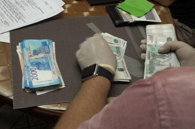 Средняя сумма взятки регионе свыше 500 тыс. рублей.