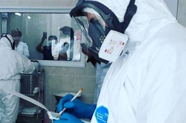 Всего с начала пандемии в регионе зафиксировали 39910 случаев заражения новой инфекцией.