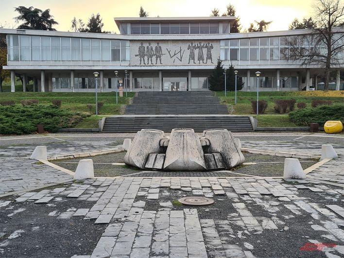Музей у мавзолея маршала Тито.