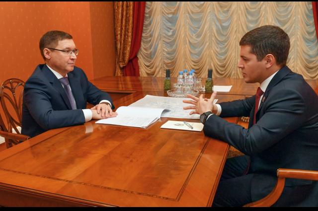 Владимир Якушев посетил с рабочей поездкой Ямал