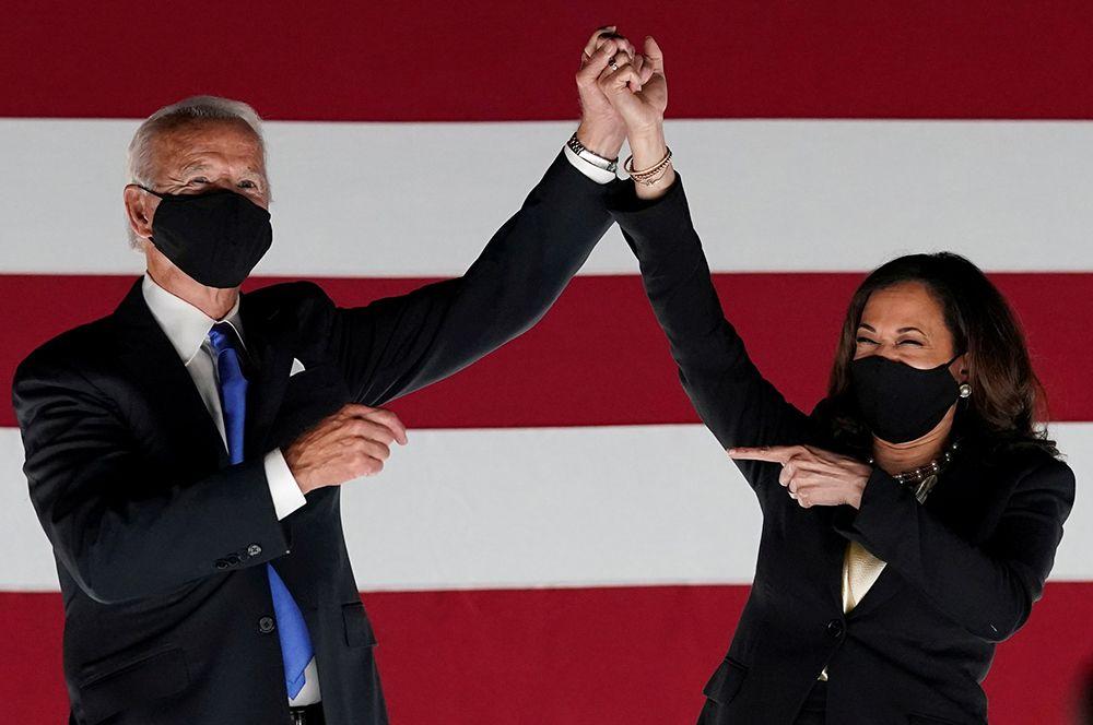 Джо Байден и Камала Харрис. Президентские выборы прошли в Соединенных Штатах 3 ноября. После долгого подсчета голосов кандидат от демократов Байден объявил о своей победе.