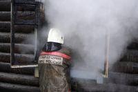 В обгоревшем здании нашли тело 52-летнего мужчины и тела собак.