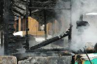 Возгорание началось из-за нарушения правил пожарной безопасности при эксплуатации печного отопления.
