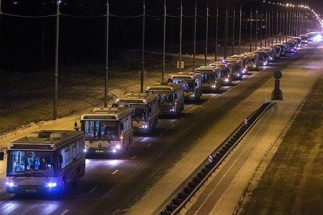 За последние 2,5 года в городе обновили треть автопарка городского транспорта.