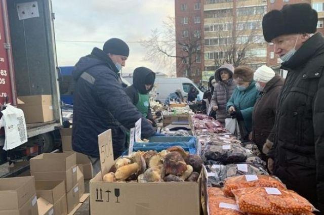 На ярмарке тюменцы потратили около четырех миллионов рублей