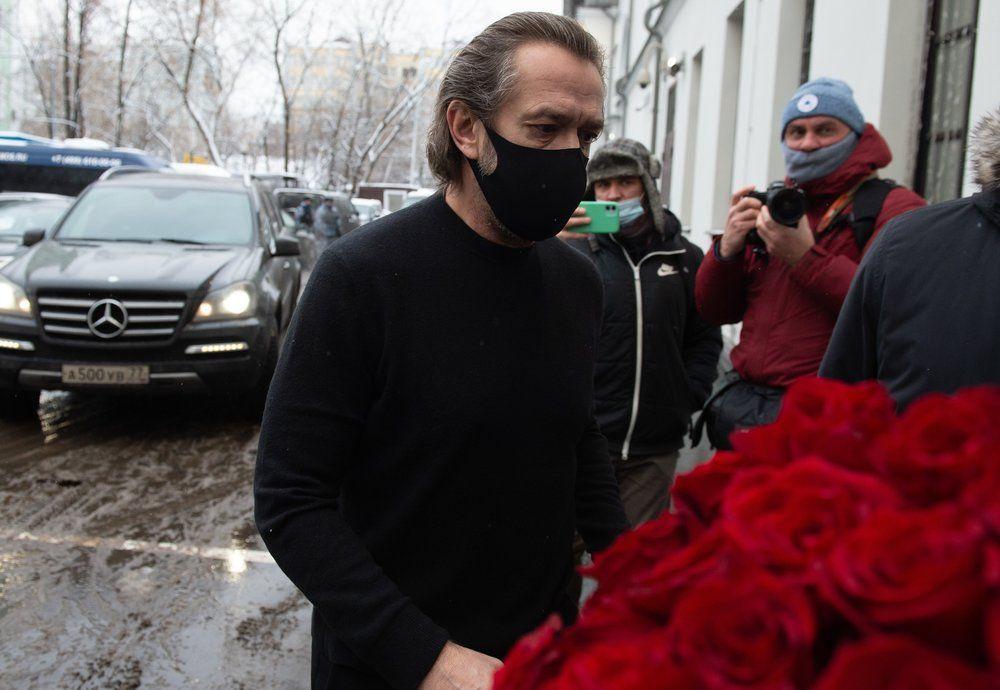 Актер, худрук Московского театра Олега Табакова Владимир Машков.