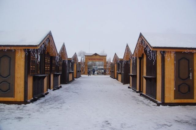 Новогодние и рождественские ярмарки пройдут на Базарной площади в Тобольске