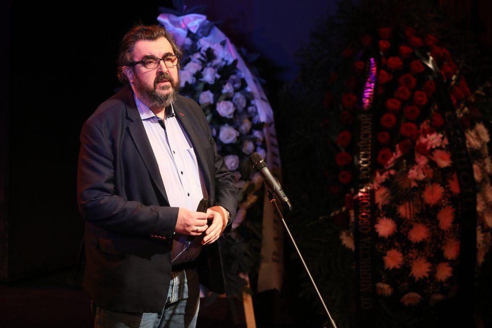 Актер Игорь Золотовицкий.