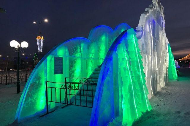 У «Геолога» начался ремонт ледовых горок