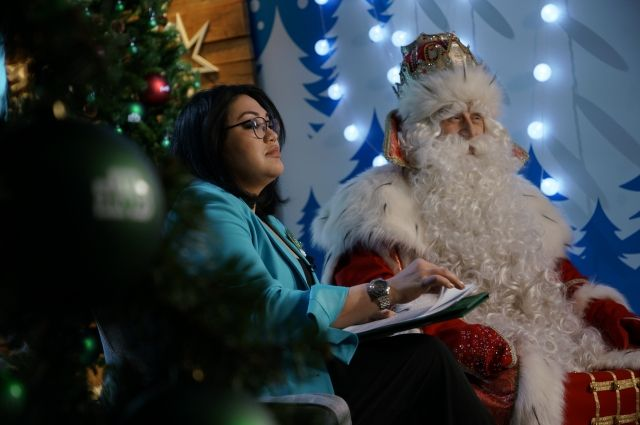 Анастасия Пак и Дед Мороз