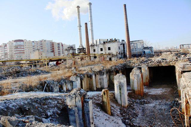 Вот что осталось от Волгоградского метизного завода.
