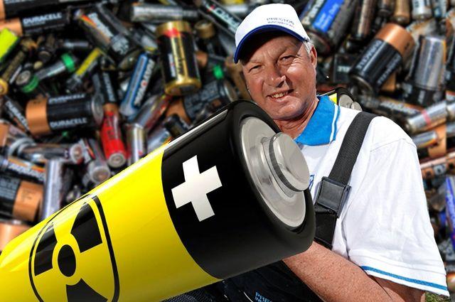 Три тонны батареек в месяц выбрасывают жители в специальные контейнеры.