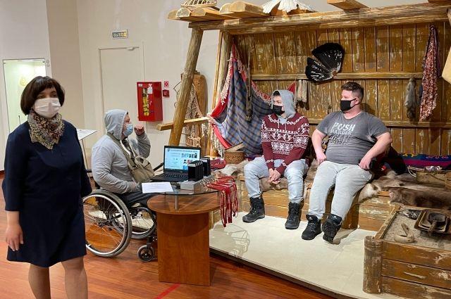 Участники проекта «Экскурсии в тишине» на его онлайн-презентации