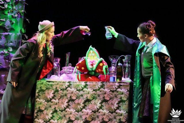 В Тюменском театре кукол проводят новогодние спектакли для школьников