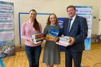 Библиотека Сорокинского района пополнилась уникальными книгами