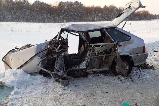 В результате аварии один человек погиб, еще один был травмирован.