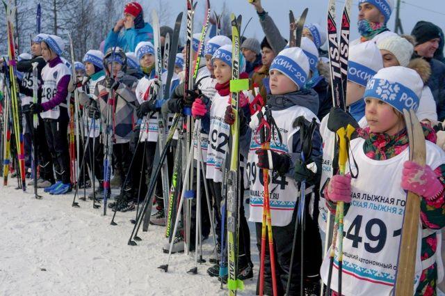 20 декабря пройдут соревнования среди юных лыжников