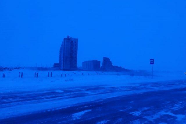 Из-за взрывных работ временно перекрывают трассу из аэропорта в Норильск.
