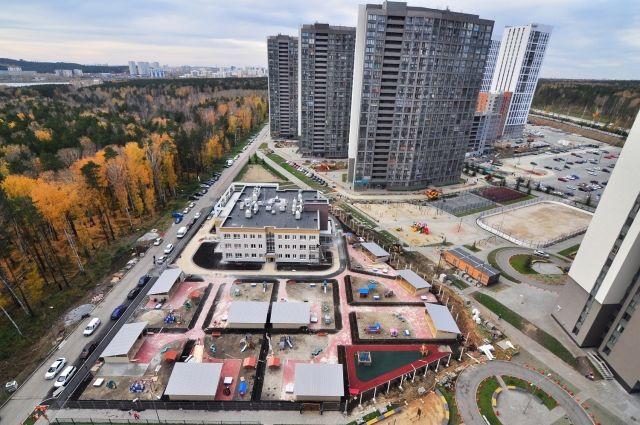 Новый детский сад в Екатеринбурге МАДОУ №133 (мкр. Светлый, строение 3б).