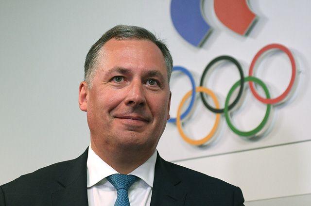 Глава Олимпийского комитета России Станислав Поздняков