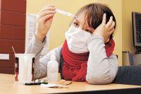 У многих болезнь начинается с высокой температуры