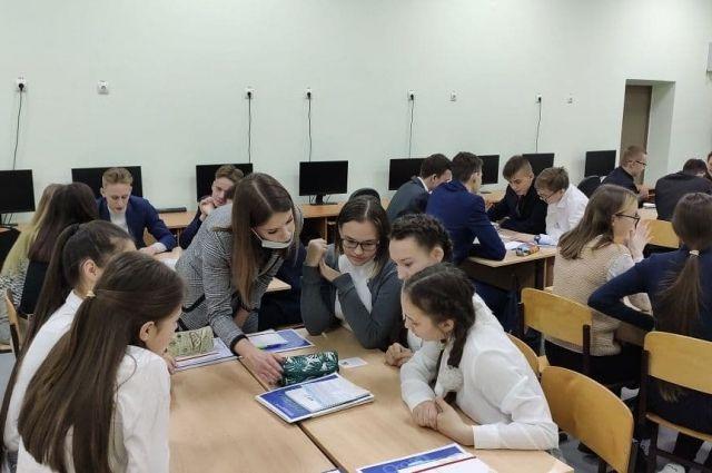 Старшеклассники Цивильской школы пробуют свои силы в деловой игре «Типы менеджеров».