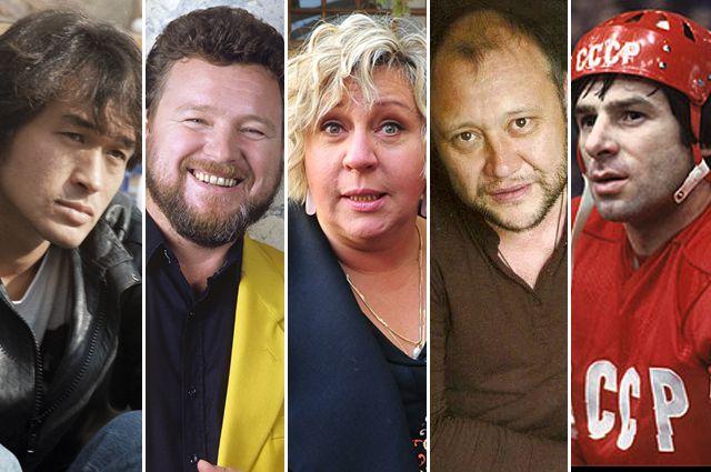 Виктор Цой, Михаил Евдокимов, Марина Голуб, Юрий Степанов, Валерий Харламов.