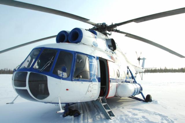 Из-за неблагоприятной погоды в Салехарде отменили два вертолетных перелета