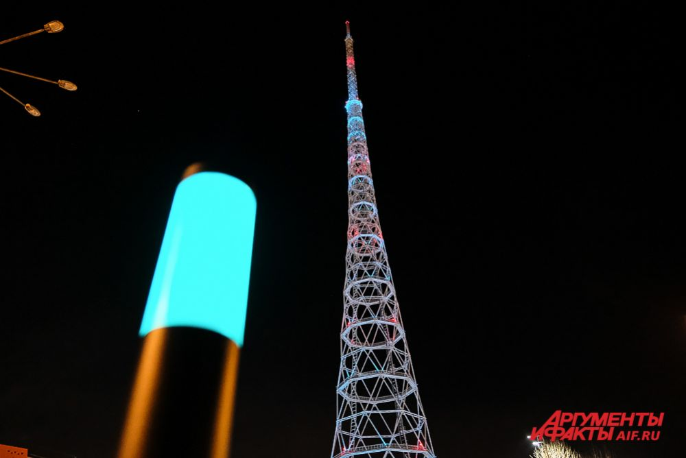 Фестиваль света «Просвет» В Перми.