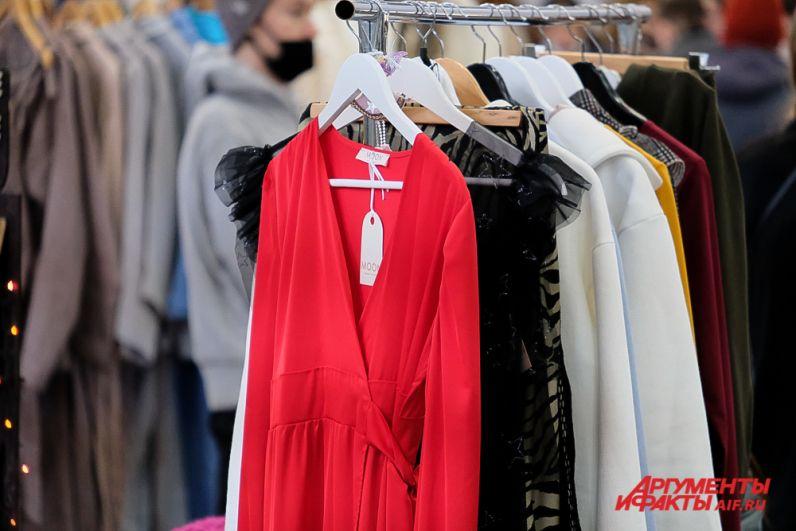 Новогодний фестиваль RED Market в Перми.