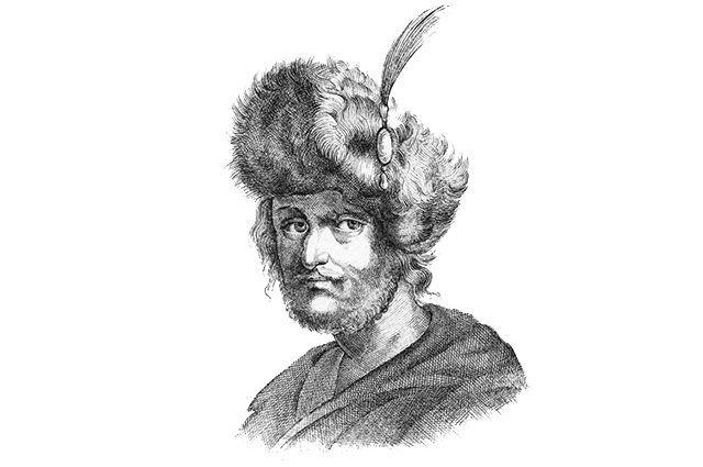 Лжедмитрий II. Картина неизвестного художника.