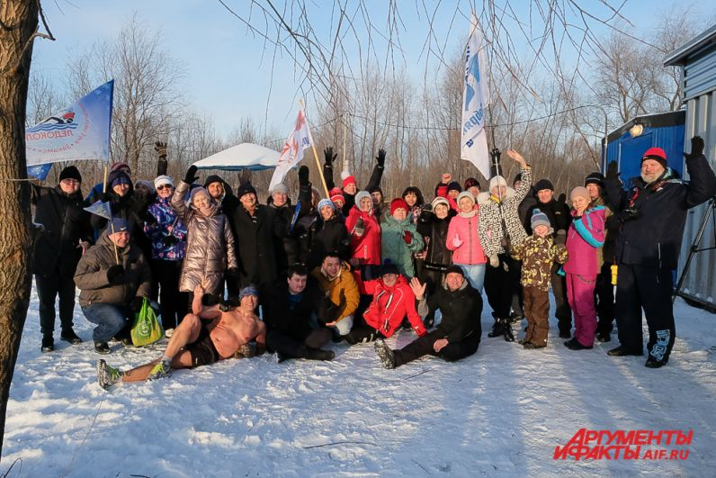 III открытый фестиваль по зимнему плаванию «Полярная звезда 2020».
