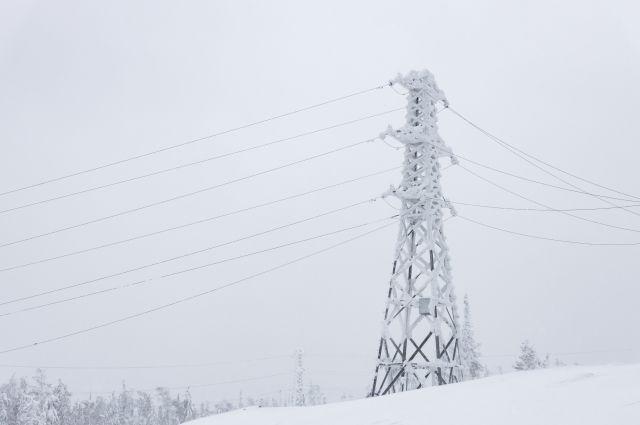 Высоковольтные линии возводятся с учётом  природоохранной политики предприятия.