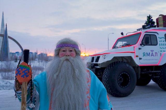 Ямал Ири отправился в большое путешествие по Ямалу