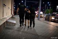 В Беларуси на протестах было задержано более 150 человек.