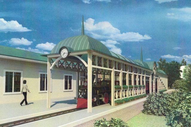 Новый учебный корпус Джд построят в виде первого железнодорожного вокзала Красноярска.
