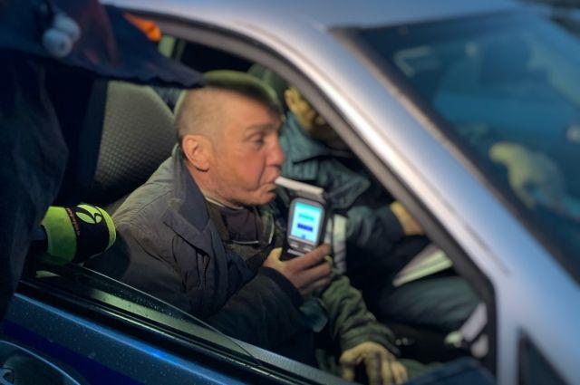 На минувшей неделе госавтоинспекторы поймали 41 водителя «под градусом»