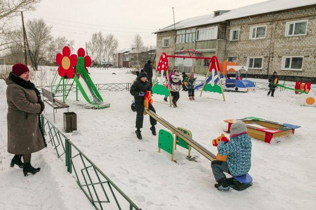 В этом году в Родино появилась детская площадка стоимостью почти 1 млн рублей.