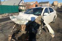 В результате аварии на улице Расковой областного центра пострадал мужчина.