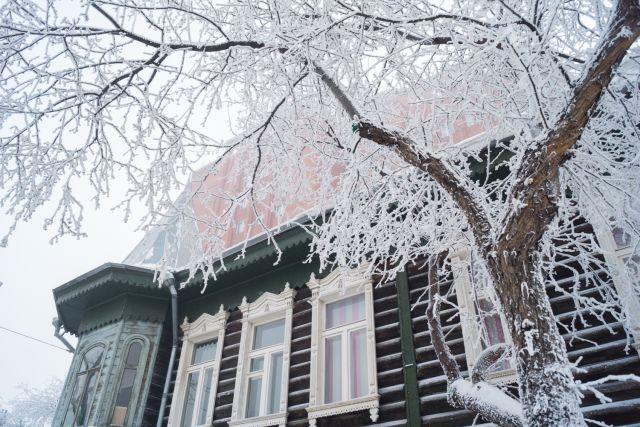С 23 по 25 декабря морозы от – 50° до - 55°С ожидается на Таймыре, в Туруханском районе и Эвенкии.