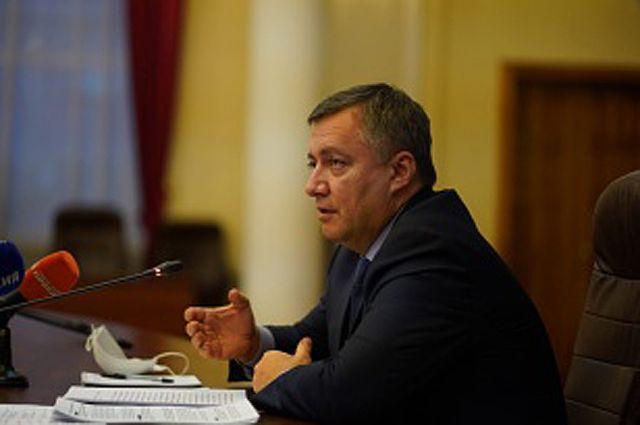 Губернатор Иркутской области Игорь Кобзев.