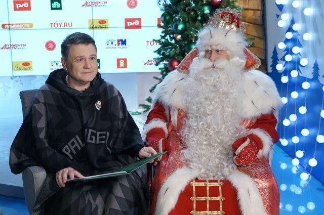 Новогодний волшебник поздравил петербуржцев онлайн.
