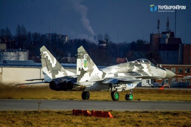 ВСУ получили отремонтированный истребитель МиГ-29.