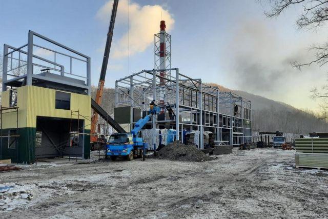 Автоматизированная котельная согреет жителей посёлка Краснореченский.