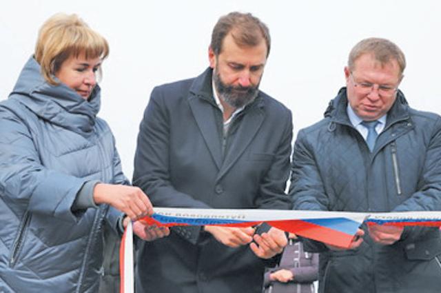 Открытие путепровода в Заларях - одно из главных событий года.