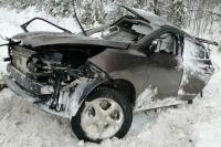 Семья из четырех человек погибла в ДТП на трассе Тюмень – Ханты-Мансийск