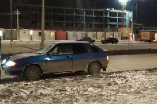 В Оренбурге произошло ДТП напротив дома №19 по улице Гаранькина.