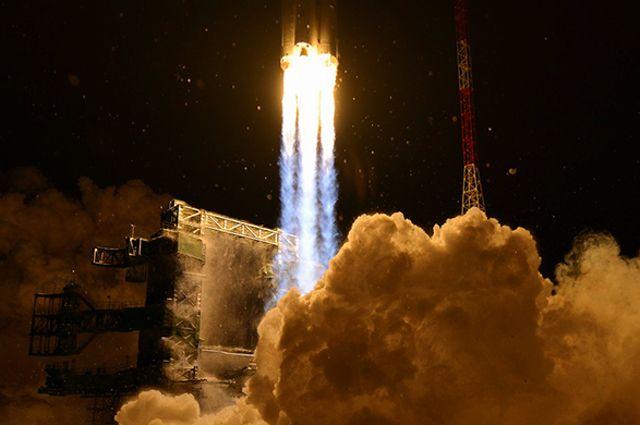 Пуск ракеты-носителя тяжелого класса «Ангара-А5».