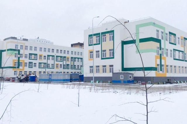 По национальному проекту в Тюмени строится школа на 1 200 мест